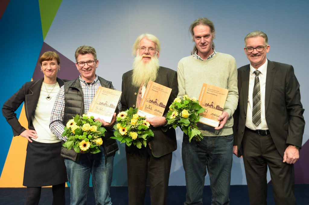 Ehrung Mechow Bioenergie-Kommune 2019